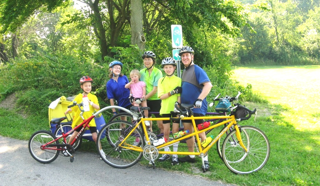 Greene Trails Cycling Classic - family bike touring fun!